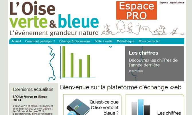 Extranet L'Oise Verte et Bleue